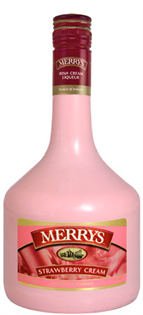 Merrys Strawberry Cream 750ml